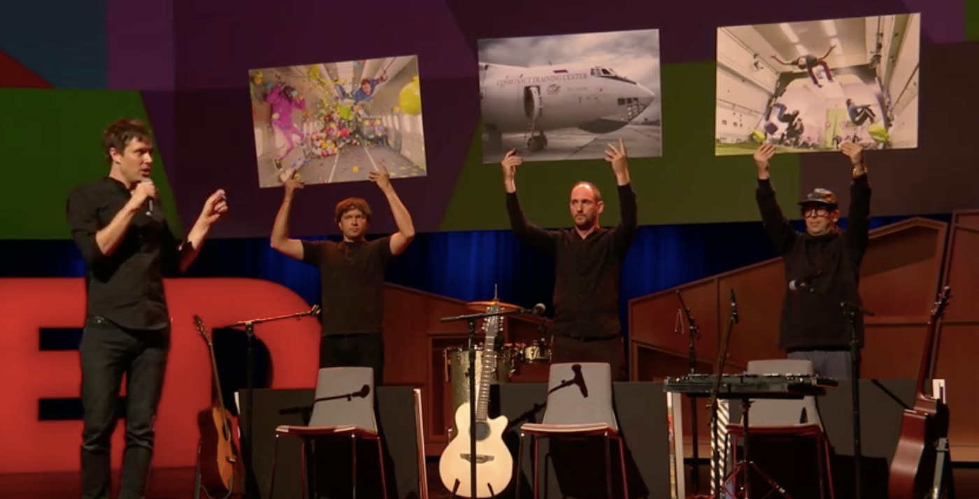 Inspiration: OK Go's TED talk on how to find a wonderful idea